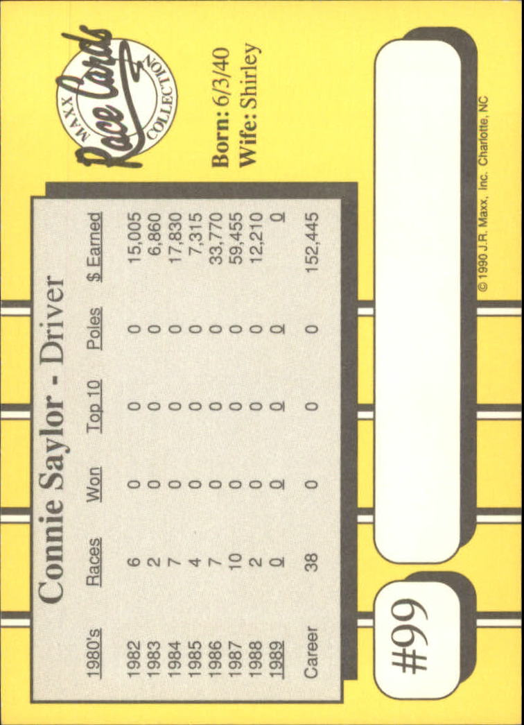 1990-Maxx-Auto-Racing-Cards-1-200-Rookies-A2695-You-Pick-10-FREE-SHIP thumbnail 199