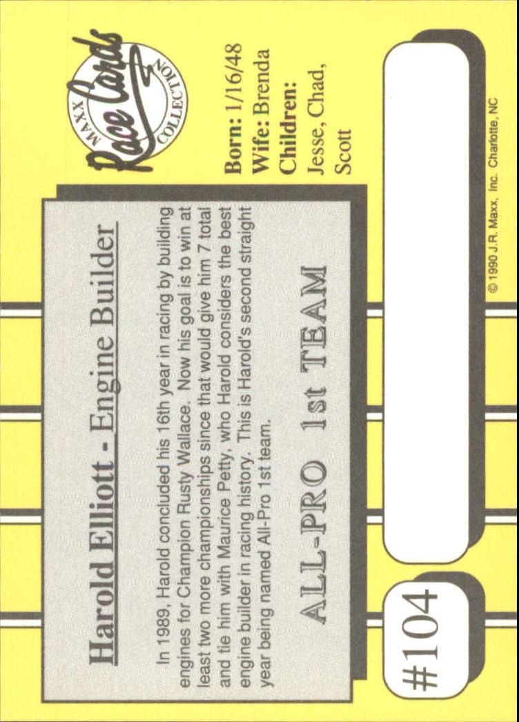1990-Maxx-Auto-Racing-Cards-1-200-Rookies-A2695-You-Pick-10-FREE-SHIP thumbnail 209