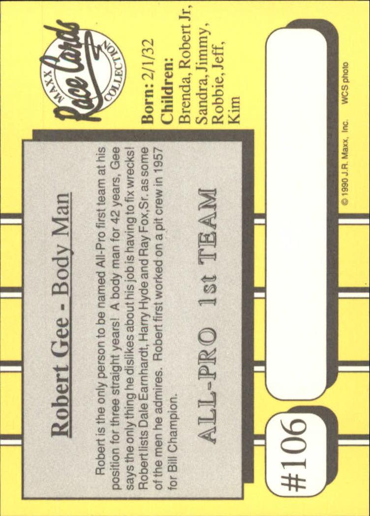 1990-Maxx-Auto-Racing-Cards-1-200-Rookies-A2695-You-Pick-10-FREE-SHIP thumbnail 213