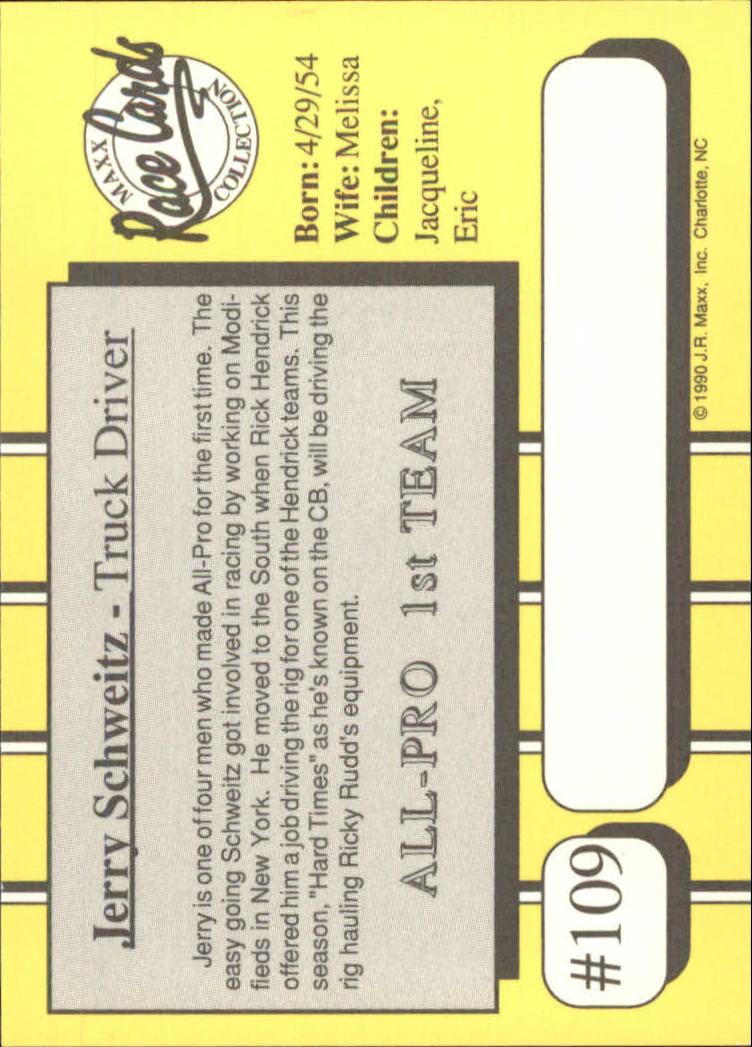 1990-Maxx-Auto-Racing-Cards-1-200-Rookies-A2695-You-Pick-10-FREE-SHIP thumbnail 219