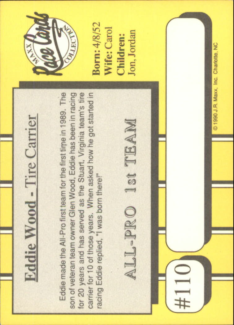 1990-Maxx-Auto-Racing-Cards-1-200-Rookies-A2695-You-Pick-10-FREE-SHIP thumbnail 221