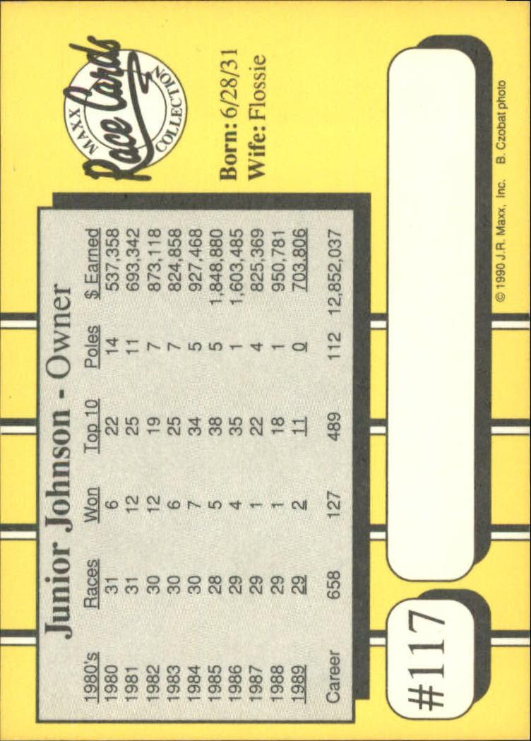 1990-Maxx-Auto-Racing-Cards-1-200-Rookies-A2695-You-Pick-10-FREE-SHIP thumbnail 235