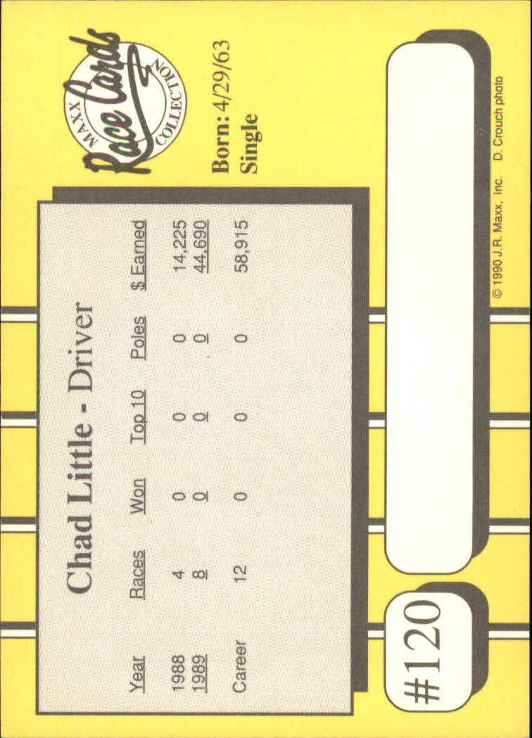 1990-Maxx-Auto-Racing-Cards-1-200-Rookies-A2695-You-Pick-10-FREE-SHIP thumbnail 241