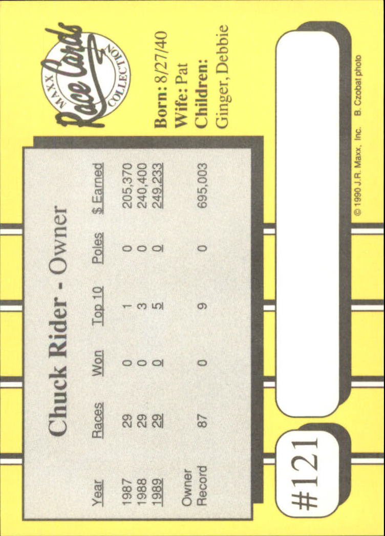 1990-Maxx-Auto-Racing-Cards-1-200-Rookies-A2695-You-Pick-10-FREE-SHIP thumbnail 243