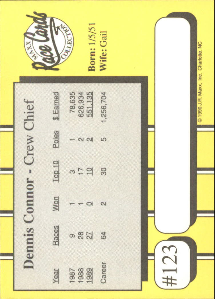 1990-Maxx-Auto-Racing-Cards-1-200-Rookies-A2695-You-Pick-10-FREE-SHIP thumbnail 249