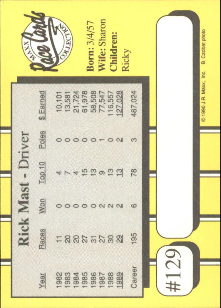 1990-Maxx-Auto-Racing-Cards-1-200-Rookies-A2695-You-Pick-10-FREE-SHIP thumbnail 259