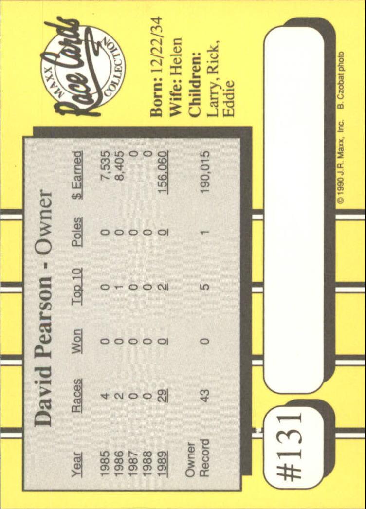 1990-Maxx-Auto-Racing-Cards-1-200-Rookies-A2695-You-Pick-10-FREE-SHIP thumbnail 261