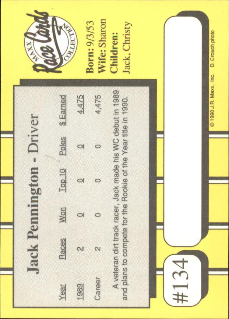 1990-Maxx-Auto-Racing-Cards-1-200-Rookies-A2695-You-Pick-10-FREE-SHIP thumbnail 267