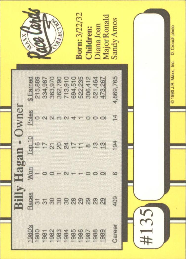 1990-Maxx-Auto-Racing-Cards-1-200-Rookies-A2695-You-Pick-10-FREE-SHIP thumbnail 269