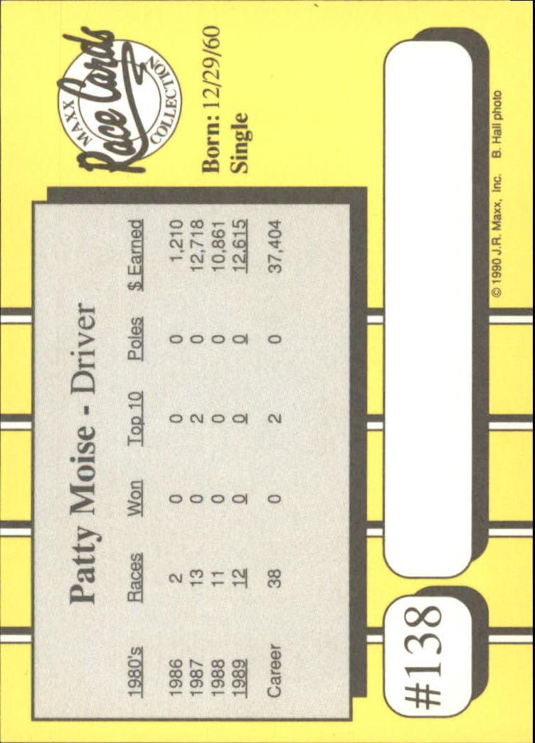 1990-Maxx-Auto-Racing-Cards-1-200-Rookies-A2695-You-Pick-10-FREE-SHIP thumbnail 275