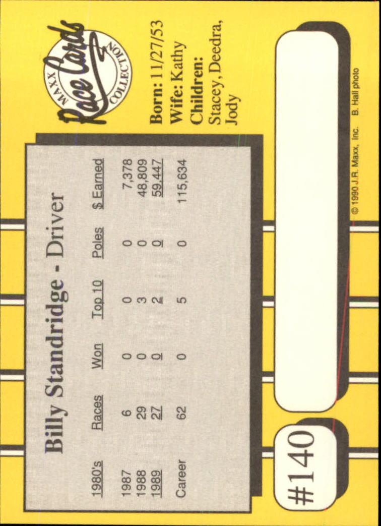1990-Maxx-Auto-Racing-Cards-1-200-Rookies-A2695-You-Pick-10-FREE-SHIP thumbnail 279