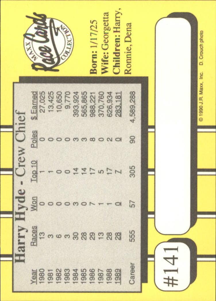 1990-Maxx-Auto-Racing-Cards-1-200-Rookies-A2695-You-Pick-10-FREE-SHIP thumbnail 281