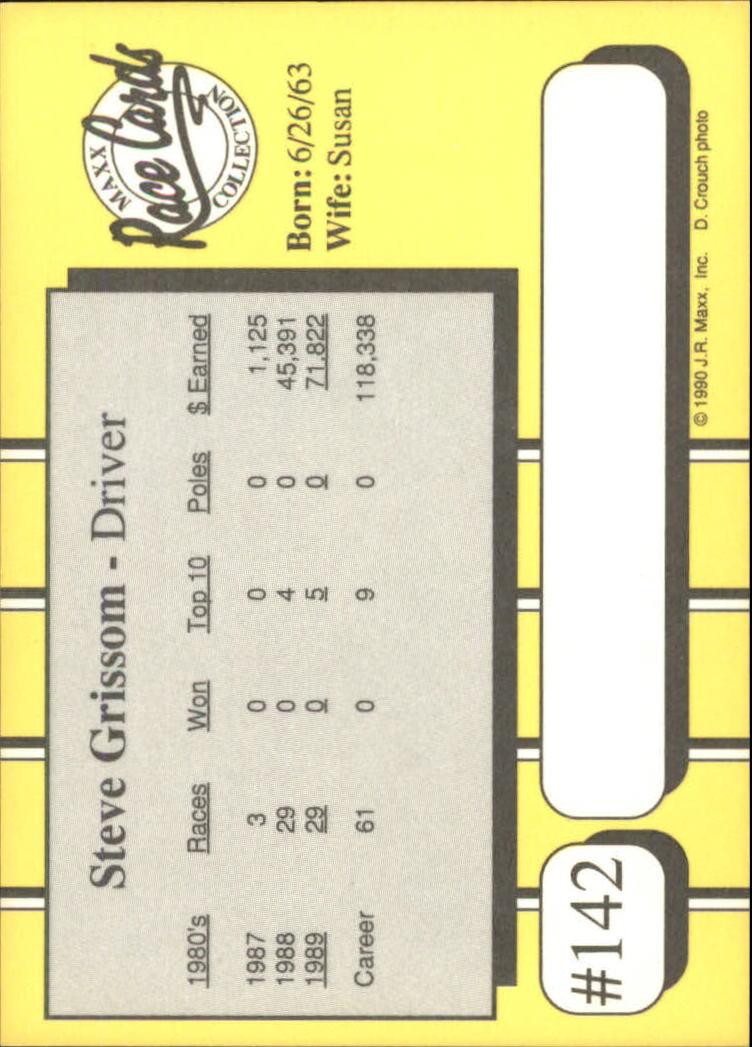 1990-Maxx-Auto-Racing-Cards-1-200-Rookies-A2695-You-Pick-10-FREE-SHIP thumbnail 283