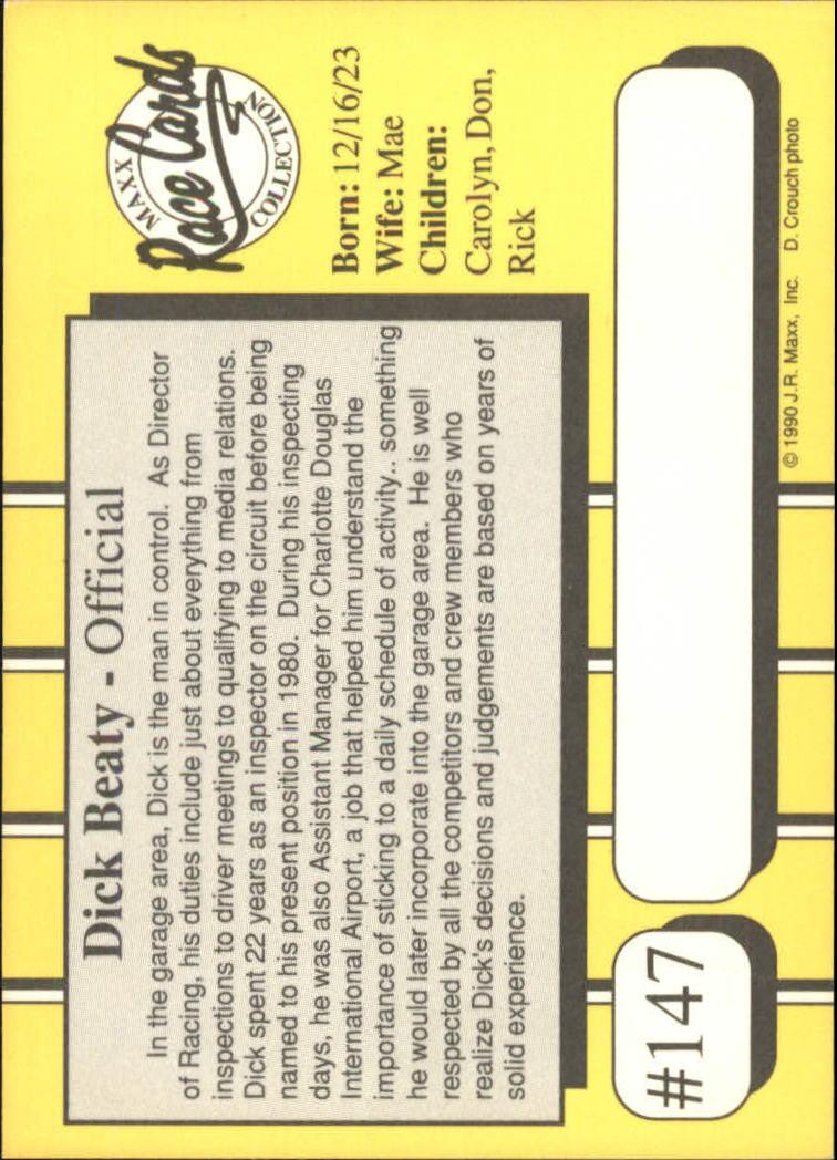 1990-Maxx-Auto-Racing-Cards-1-200-Rookies-A2695-You-Pick-10-FREE-SHIP thumbnail 293