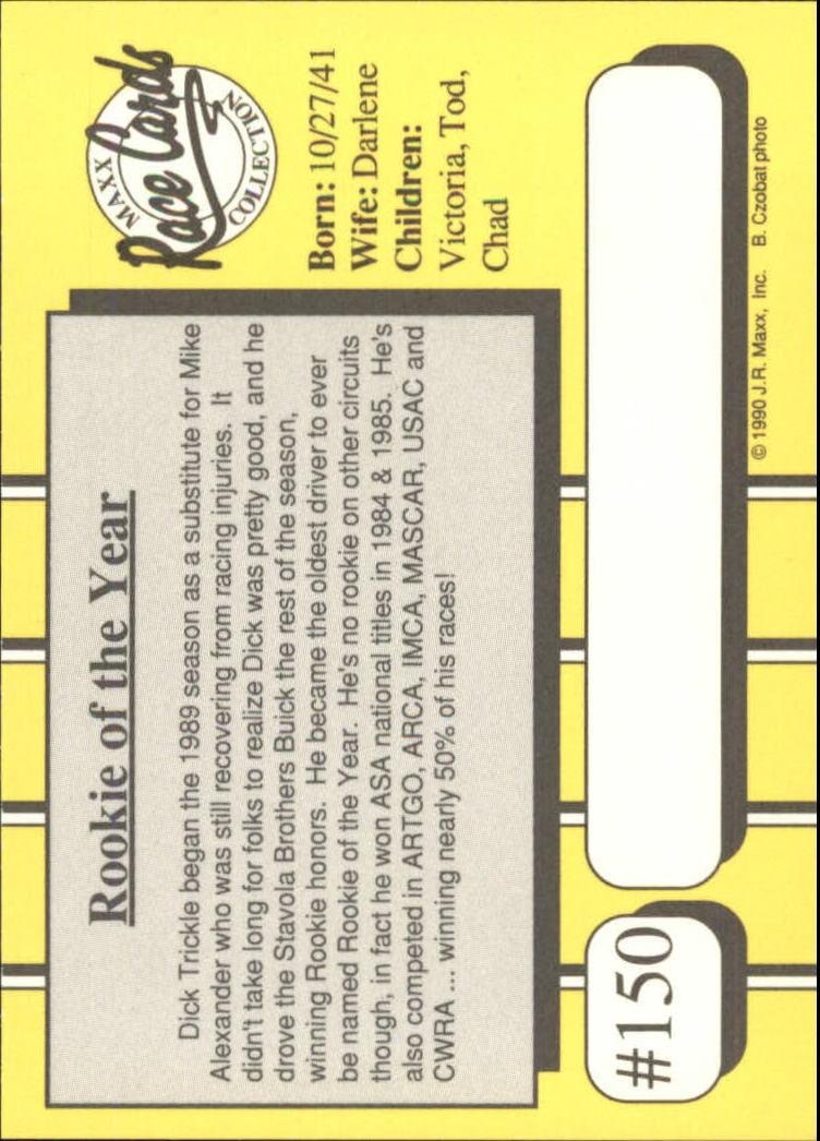 1990-Maxx-Auto-Racing-Cards-1-200-Rookies-A2695-You-Pick-10-FREE-SHIP thumbnail 299