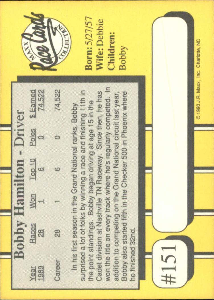 1990-Maxx-Auto-Racing-Cards-1-200-Rookies-A2695-You-Pick-10-FREE-SHIP thumbnail 301