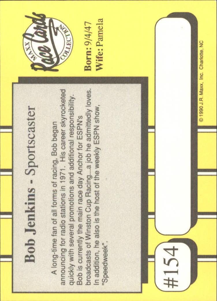 1990-Maxx-Auto-Racing-Cards-1-200-Rookies-A2695-You-Pick-10-FREE-SHIP thumbnail 307