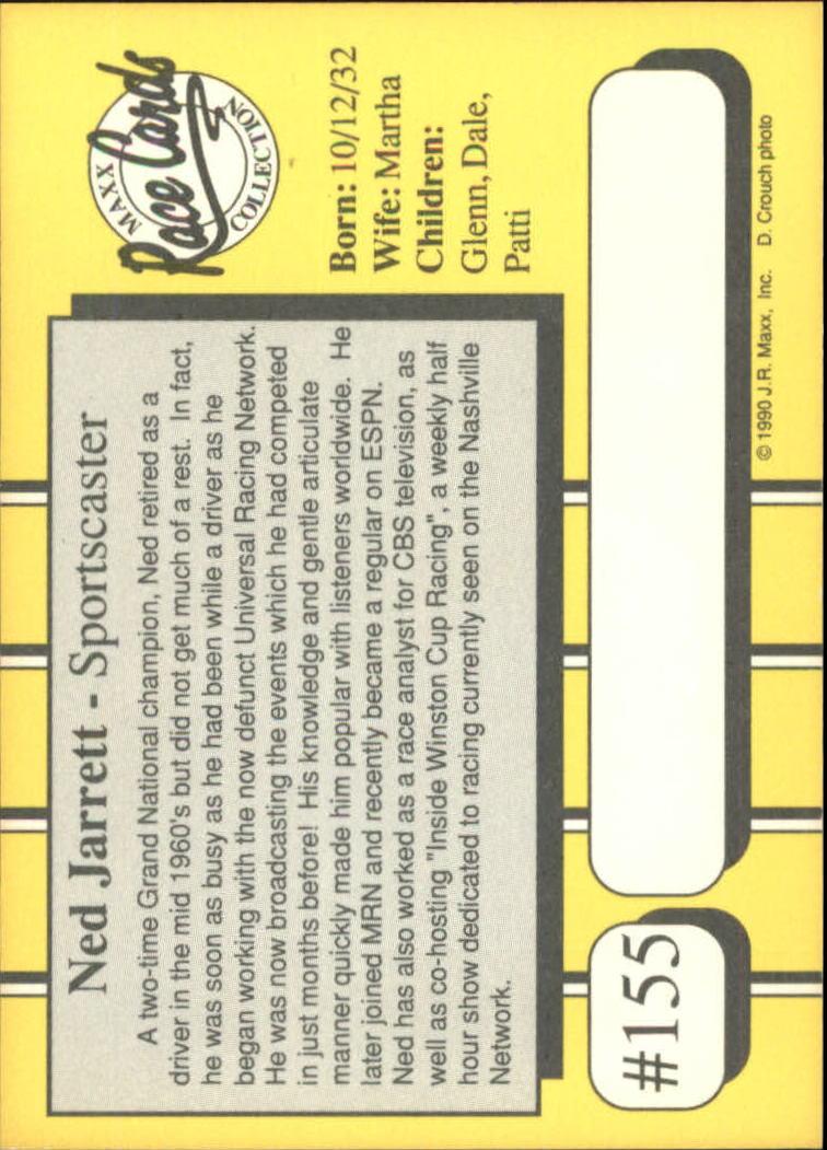 1990-Maxx-Auto-Racing-Cards-1-200-Rookies-A2695-You-Pick-10-FREE-SHIP thumbnail 309