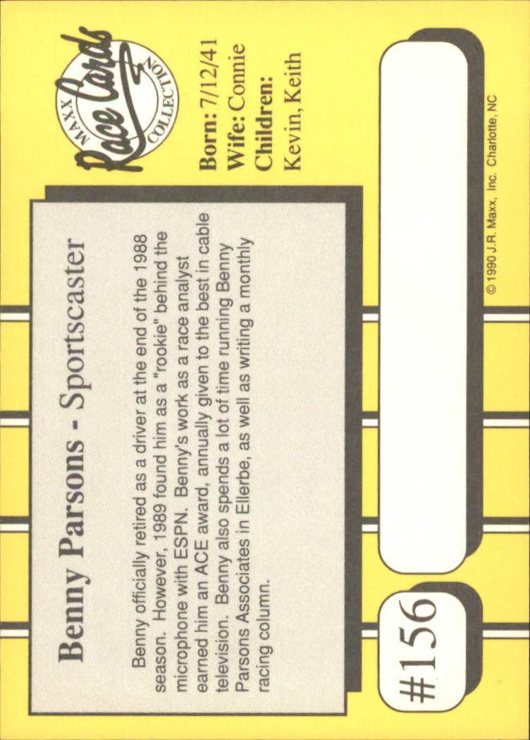 1990-Maxx-Auto-Racing-Cards-1-200-Rookies-A2695-You-Pick-10-FREE-SHIP thumbnail 311