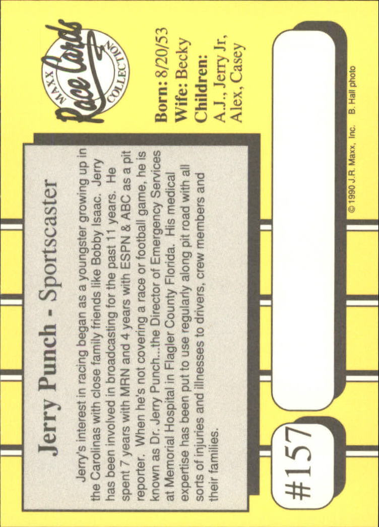 1990-Maxx-Auto-Racing-Cards-1-200-Rookies-A2695-You-Pick-10-FREE-SHIP thumbnail 313