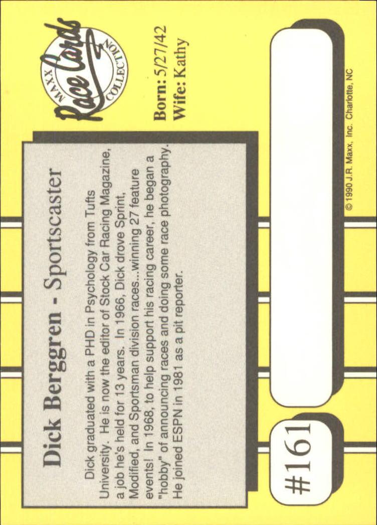 1990-Maxx-Auto-Racing-Cards-1-200-Rookies-A2695-You-Pick-10-FREE-SHIP thumbnail 321