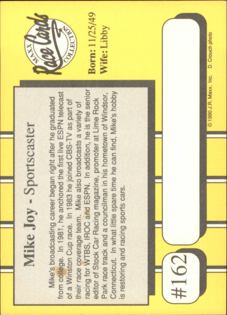 1990-Maxx-Auto-Racing-Cards-1-200-Rookies-A2695-You-Pick-10-FREE-SHIP thumbnail 323
