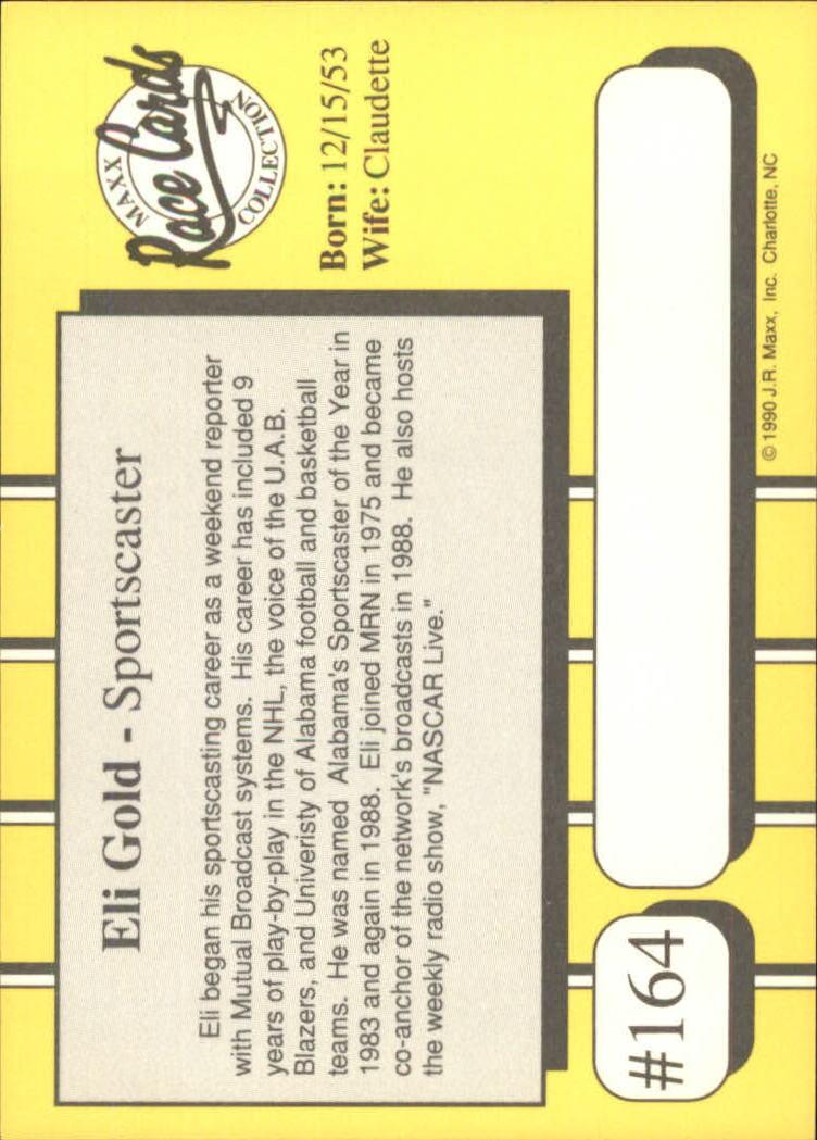 1990-Maxx-Auto-Racing-Cards-1-200-Rookies-A2695-You-Pick-10-FREE-SHIP thumbnail 327