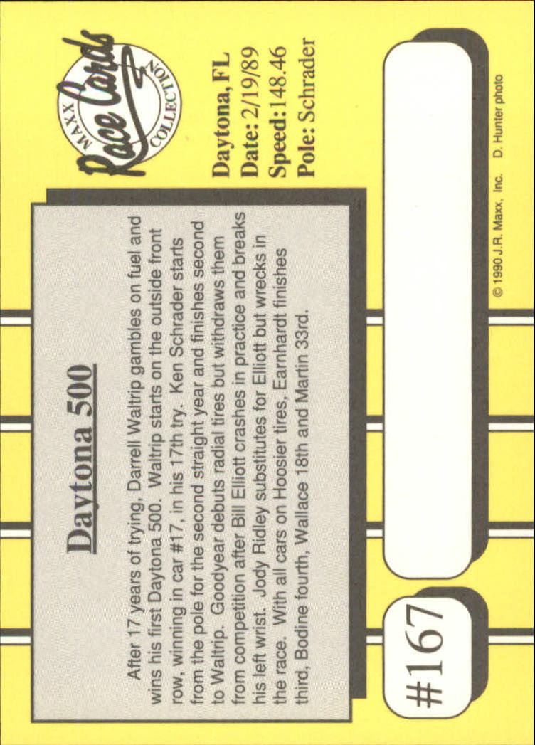 1990-Maxx-Auto-Racing-Cards-1-200-Rookies-A2695-You-Pick-10-FREE-SHIP thumbnail 333