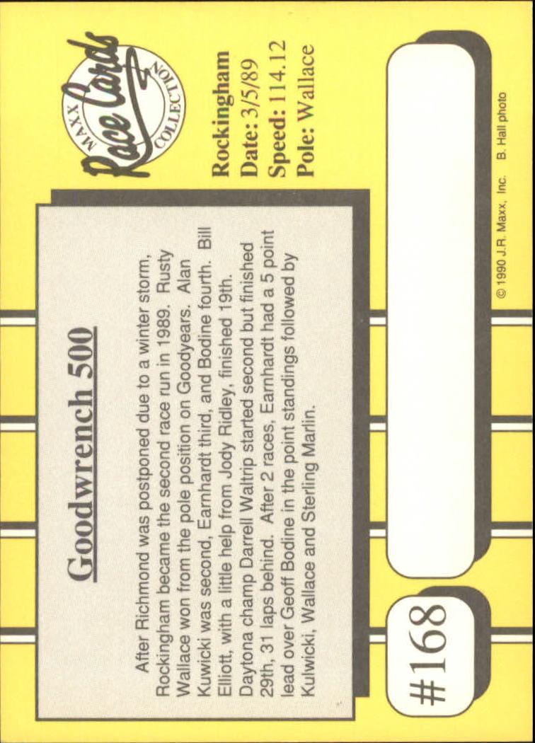 1990-Maxx-Auto-Racing-Cards-1-200-Rookies-A2695-You-Pick-10-FREE-SHIP thumbnail 335