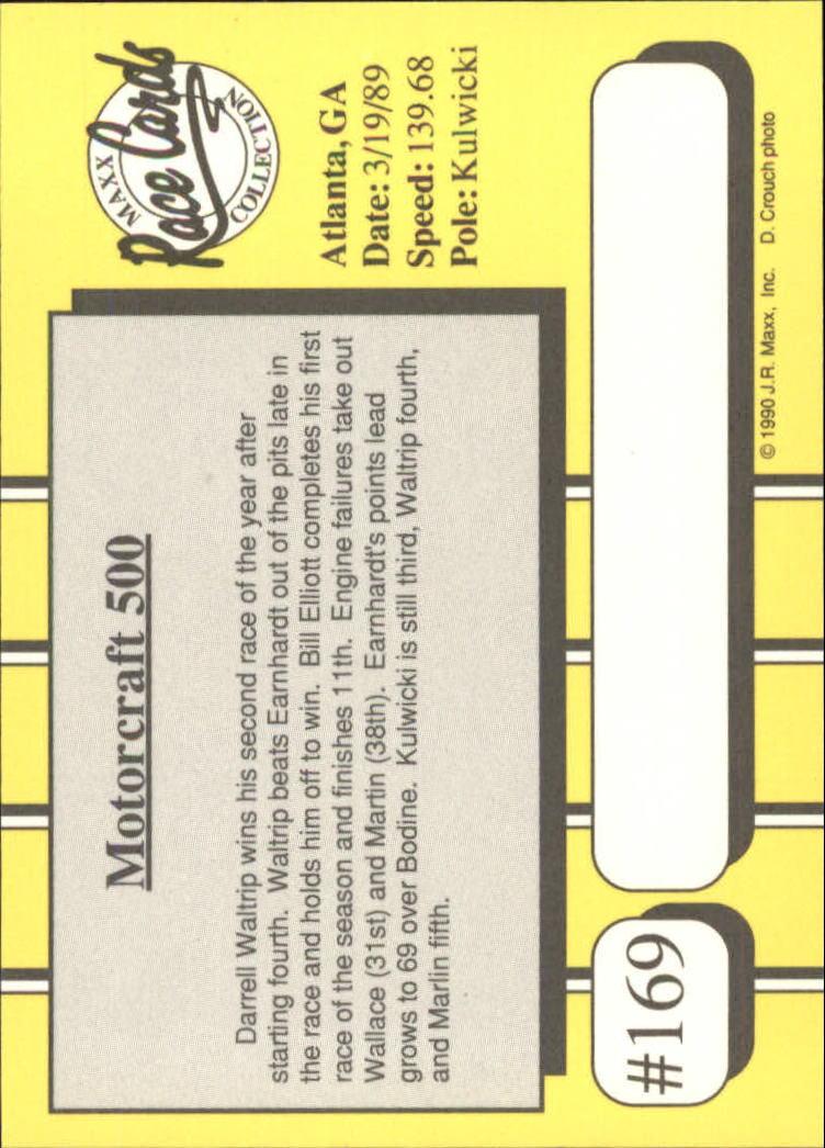 1990-Maxx-Auto-Racing-Cards-1-200-Rookies-A2695-You-Pick-10-FREE-SHIP thumbnail 337