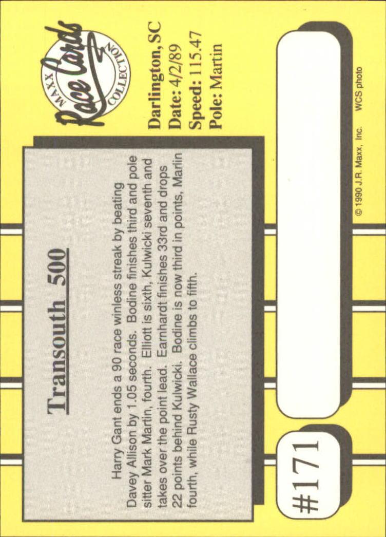 1990-Maxx-Auto-Racing-Cards-1-200-Rookies-A2695-You-Pick-10-FREE-SHIP thumbnail 341