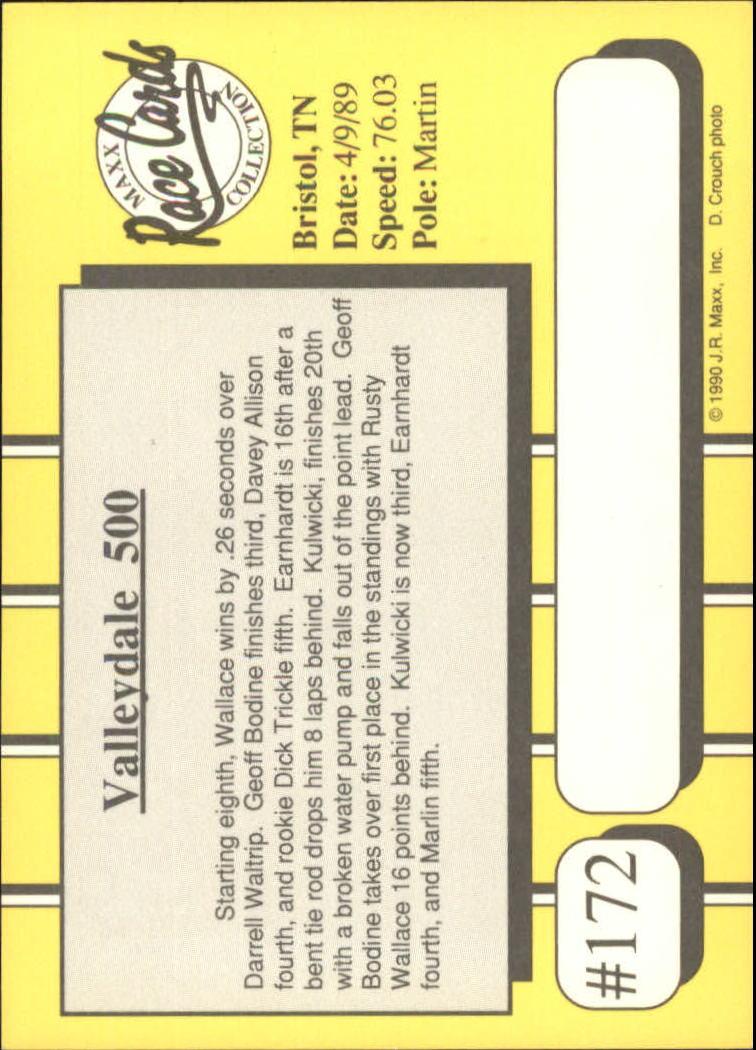 1990-Maxx-Auto-Racing-Cards-1-200-Rookies-A2695-You-Pick-10-FREE-SHIP thumbnail 343