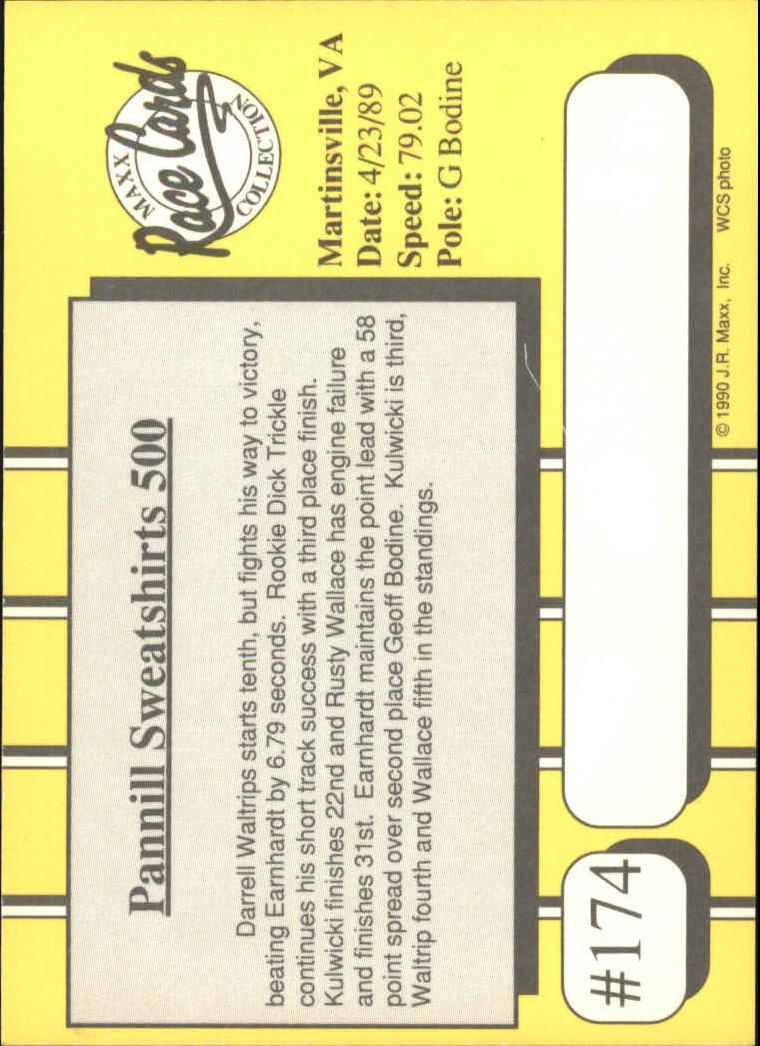 1990-Maxx-Auto-Racing-Cards-1-200-Rookies-A2695-You-Pick-10-FREE-SHIP thumbnail 347