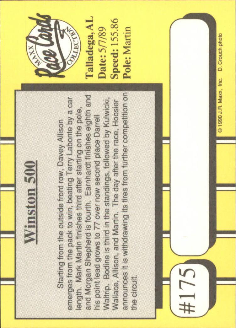 1990-Maxx-Auto-Racing-Cards-1-200-Rookies-A2695-You-Pick-10-FREE-SHIP thumbnail 349