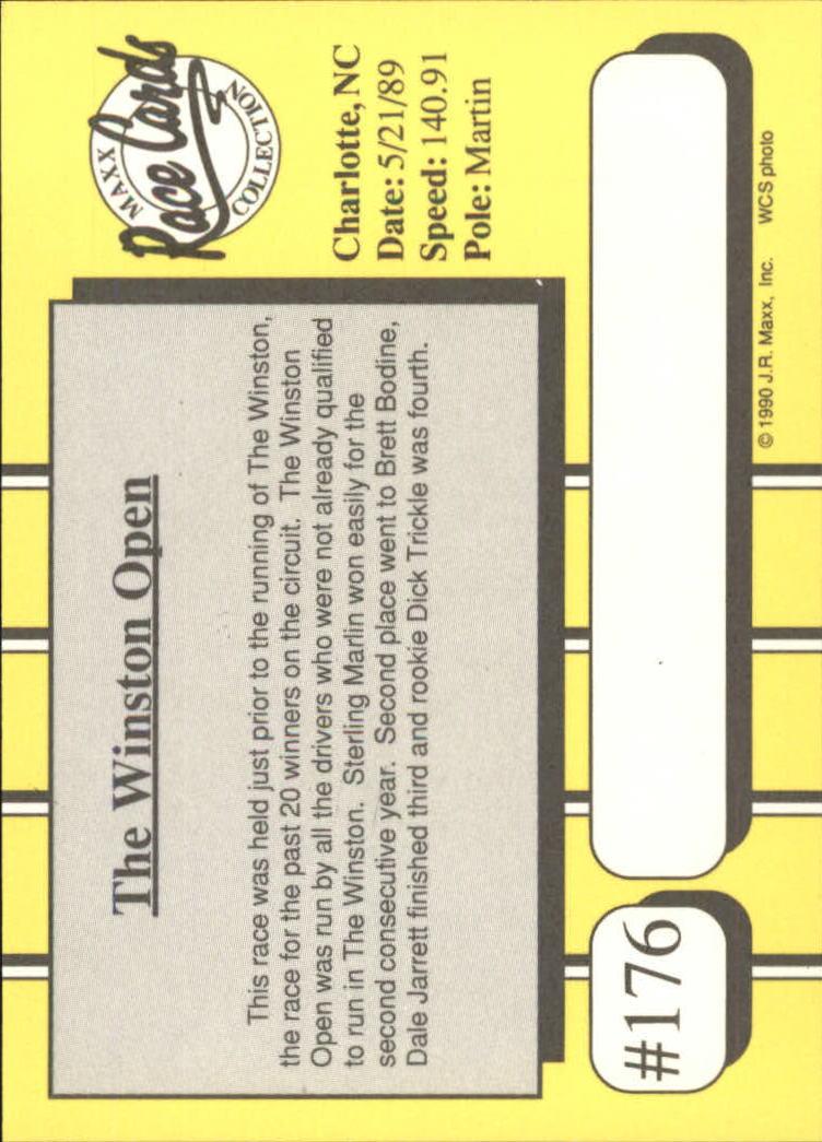 1990-Maxx-Auto-Racing-Cards-1-200-Rookies-A2695-You-Pick-10-FREE-SHIP thumbnail 351