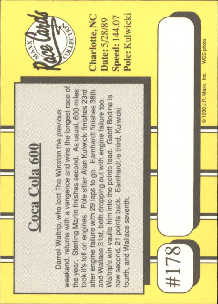 1990-Maxx-Auto-Racing-Cards-1-200-Rookies-A2695-You-Pick-10-FREE-SHIP thumbnail 355