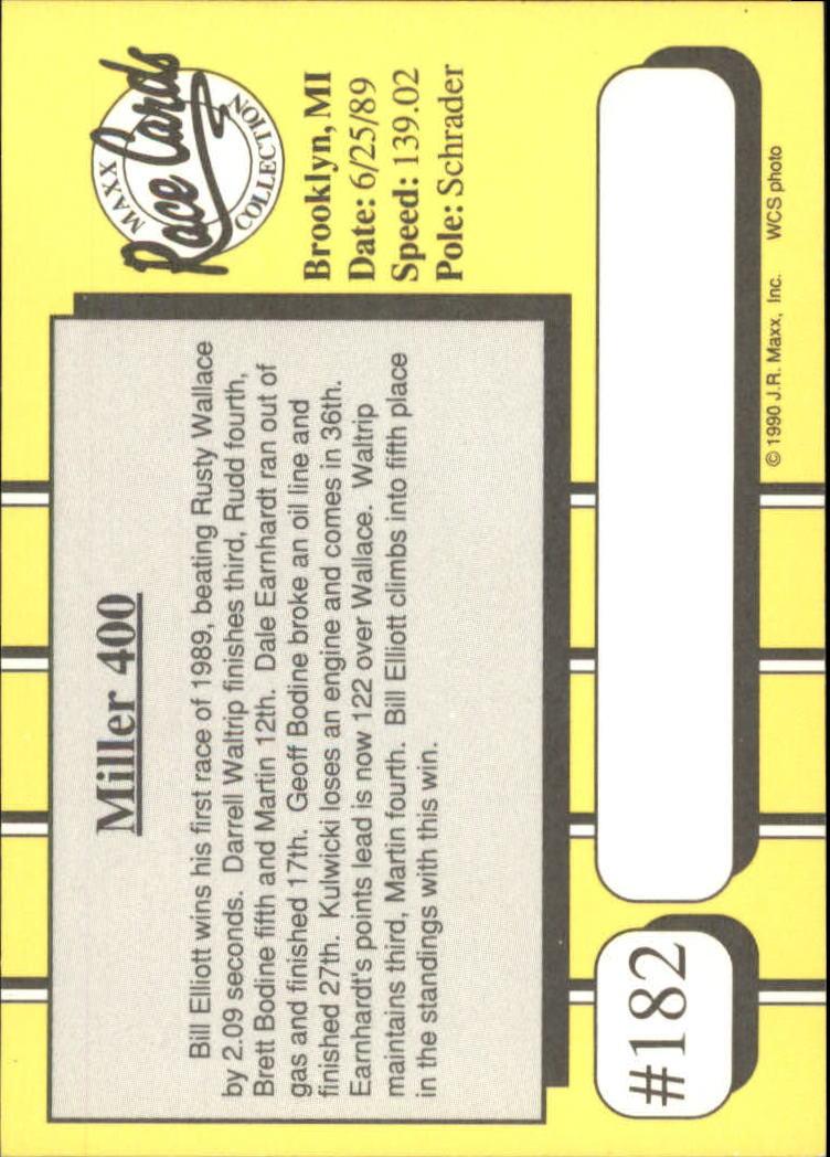 1990-Maxx-Auto-Racing-Cards-1-200-Rookies-A2695-You-Pick-10-FREE-SHIP thumbnail 363