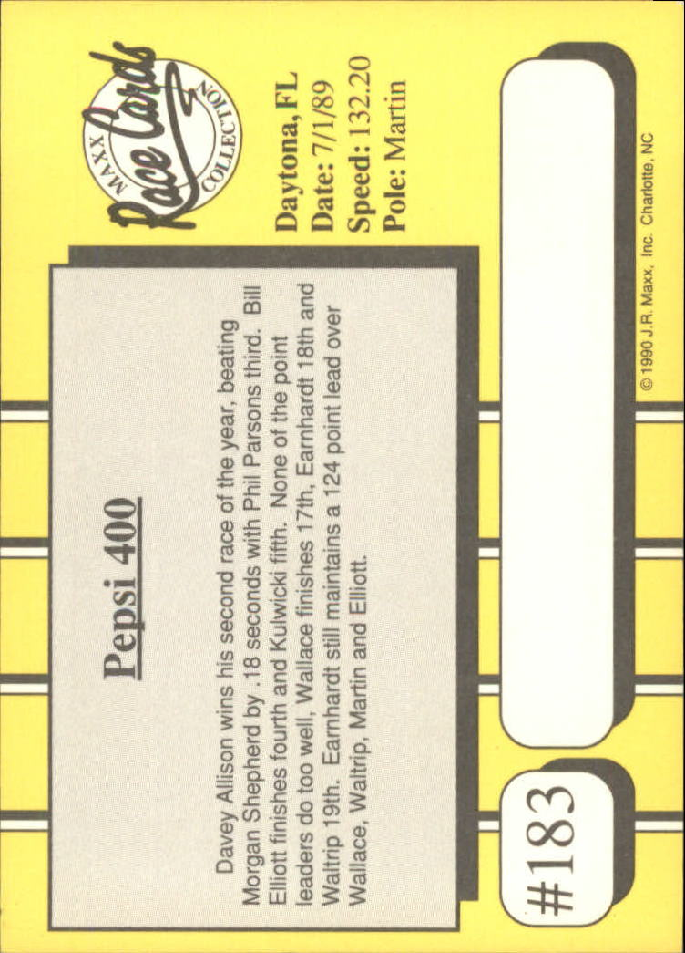 1990-Maxx-Auto-Racing-Cards-1-200-Rookies-A2695-You-Pick-10-FREE-SHIP thumbnail 365