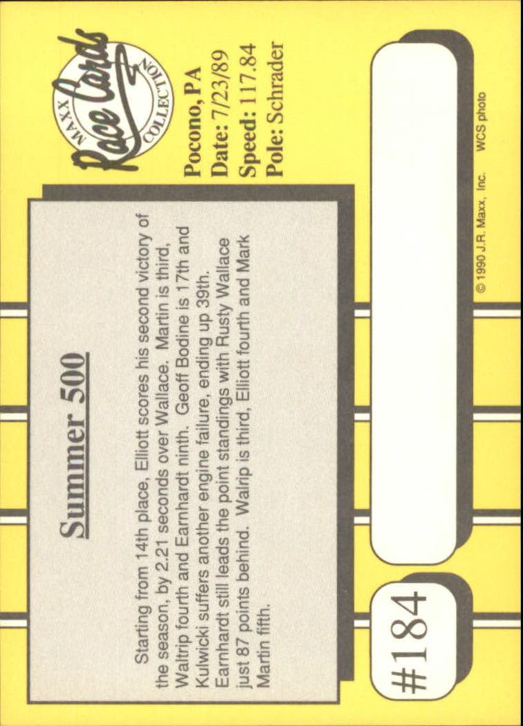 1990-Maxx-Auto-Racing-Cards-1-200-Rookies-A2695-You-Pick-10-FREE-SHIP thumbnail 367