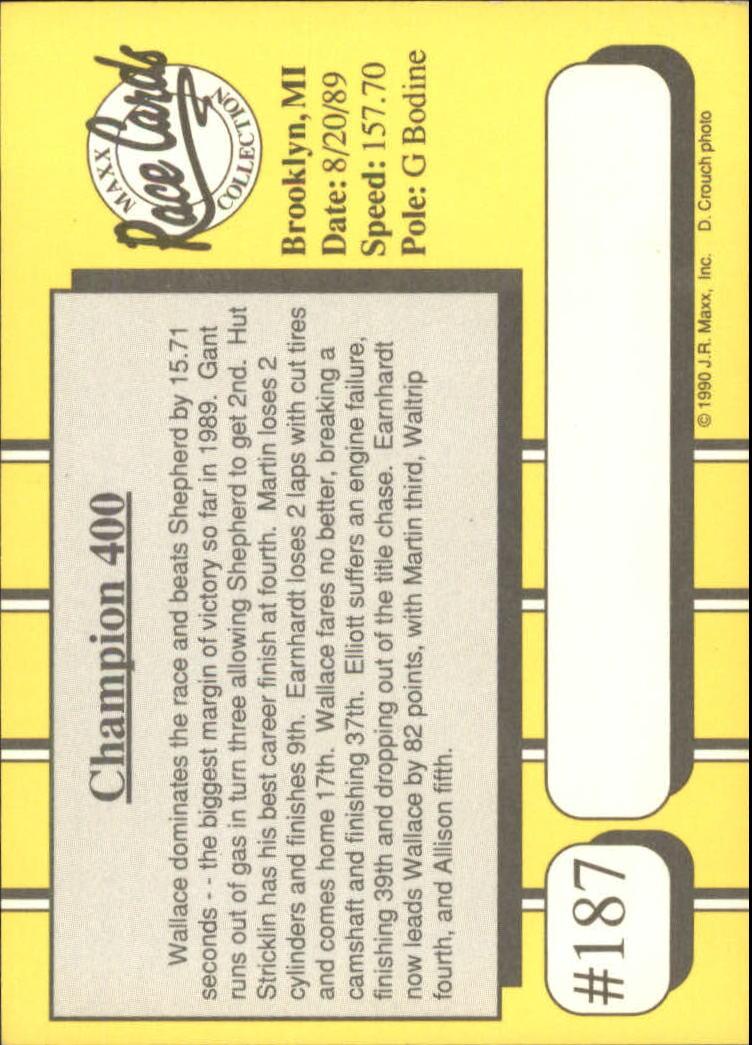 1990-Maxx-Auto-Racing-Cards-1-200-Rookies-A2695-You-Pick-10-FREE-SHIP thumbnail 373