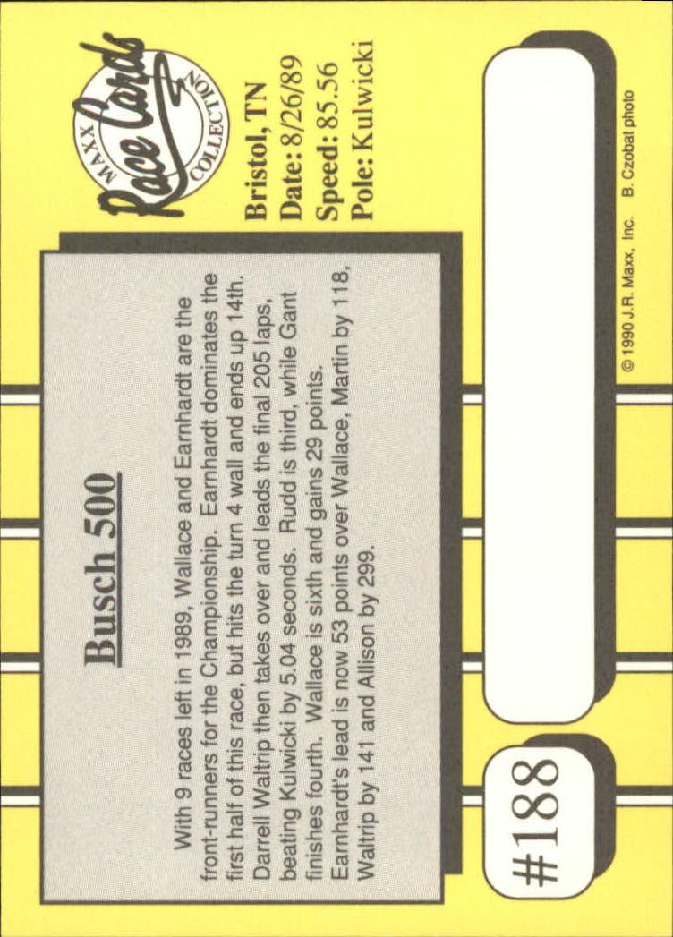 1990-Maxx-Auto-Racing-Cards-1-200-Rookies-A2695-You-Pick-10-FREE-SHIP thumbnail 375
