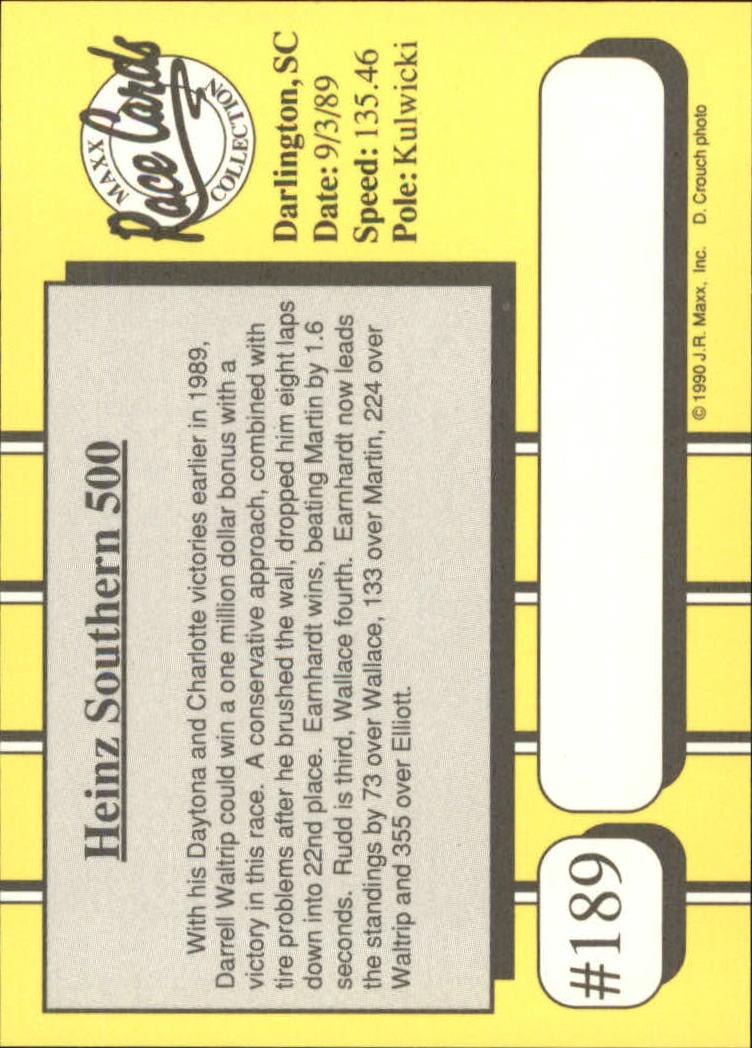 1990-Maxx-Auto-Racing-Cards-1-200-Rookies-A2695-You-Pick-10-FREE-SHIP thumbnail 377
