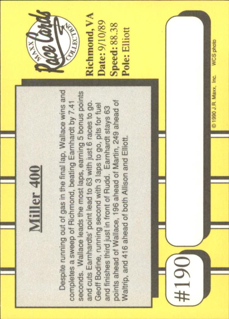 1990-Maxx-Auto-Racing-Cards-1-200-Rookies-A2695-You-Pick-10-FREE-SHIP thumbnail 379