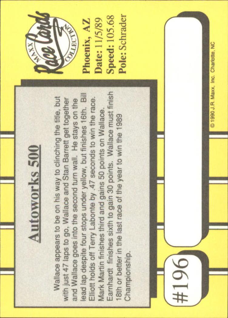 1990-Maxx-Auto-Racing-Cards-1-200-Rookies-A2695-You-Pick-10-FREE-SHIP thumbnail 391
