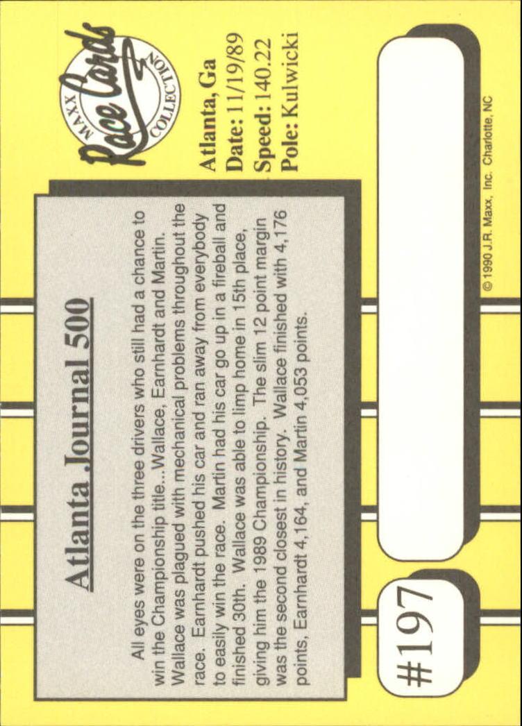 1990-Maxx-Auto-Racing-Cards-1-200-Rookies-A2695-You-Pick-10-FREE-SHIP thumbnail 393