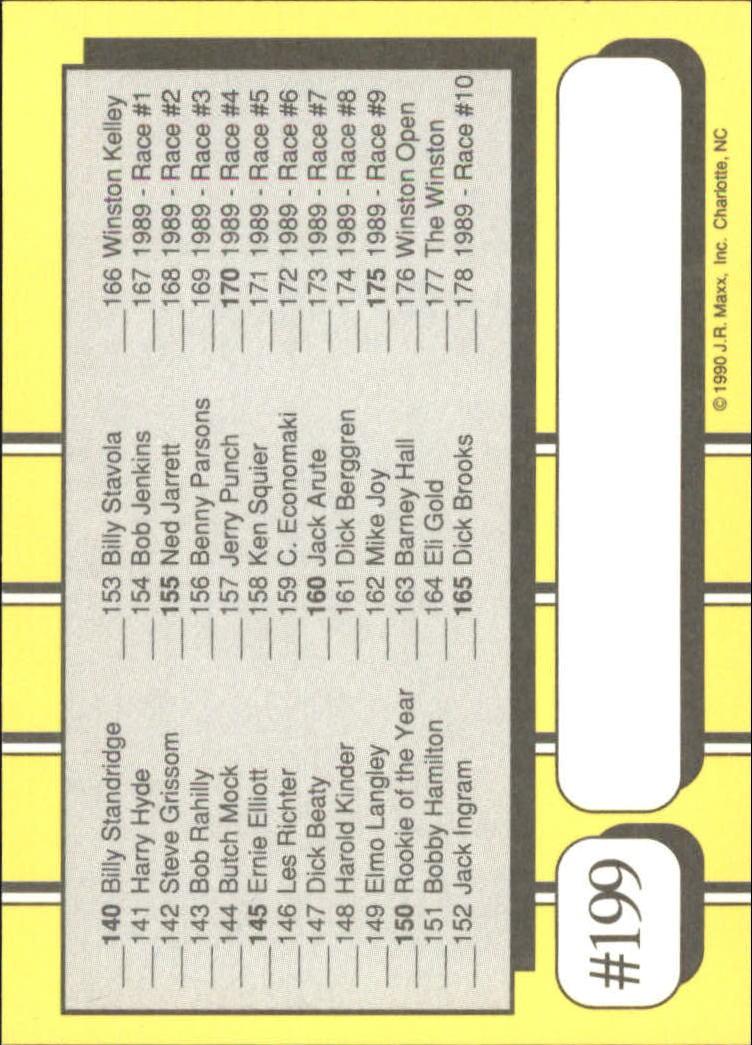 1990-Maxx-Auto-Racing-Cards-1-200-Rookies-A2695-You-Pick-10-FREE-SHIP thumbnail 397