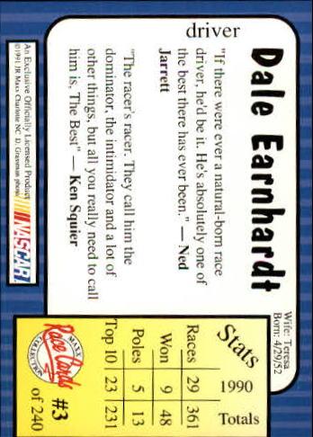 1991-Maxx-Auto-Racing-Cards-1-240-Rookies-A2705-You-Pick-10-FREE-SHIP thumbnail 7