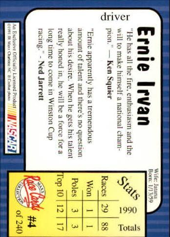 1991-Maxx-Auto-Racing-Cards-1-240-Rookies-A2705-You-Pick-10-FREE-SHIP thumbnail 9