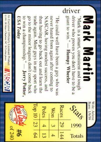1991-Maxx-Auto-Racing-Cards-1-240-Rookies-A2705-You-Pick-10-FREE-SHIP thumbnail 13