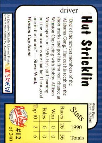 1991-Maxx-Auto-Racing-Cards-1-240-Rookies-A2705-You-Pick-10-FREE-SHIP thumbnail 25
